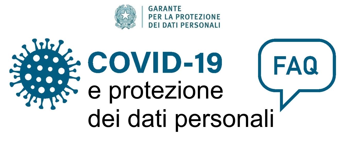 Covid-19 e protezione dati personali FAQ